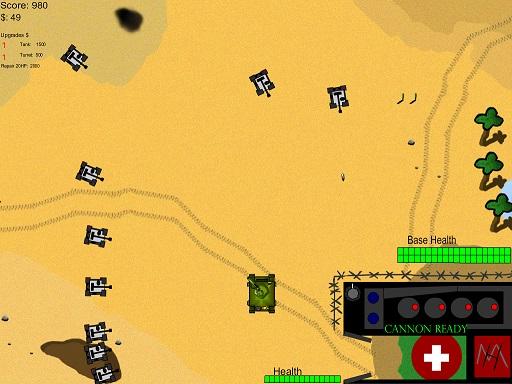Tank Flash Arcade Game