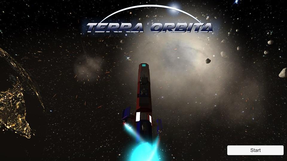 Terra Orbita StartScreen