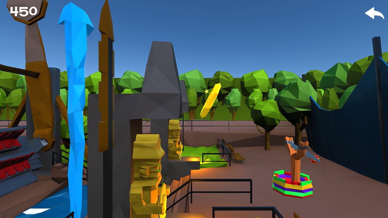 Avonturenpark Hellendoorn Catapult Game