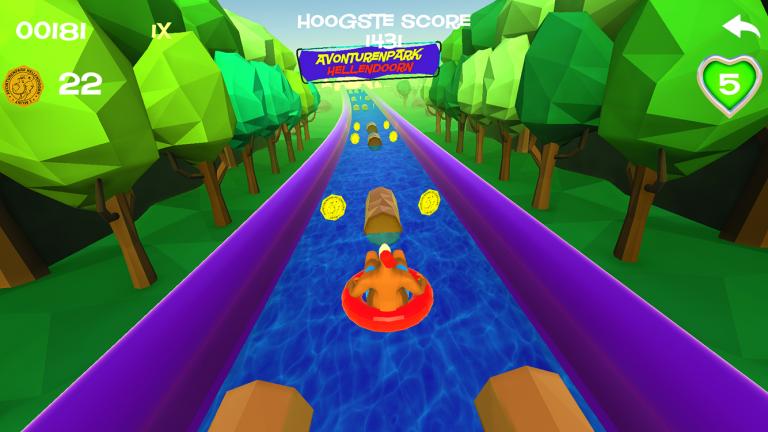 Avonturenpark Hellendoorn Slide game